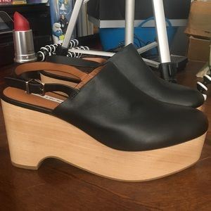 Anthropologie & Other Stories Heeled Mules 39 NWT